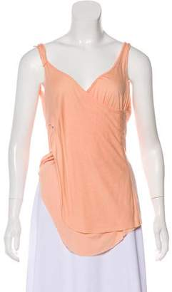 Poleci Accented Sleeveless Top