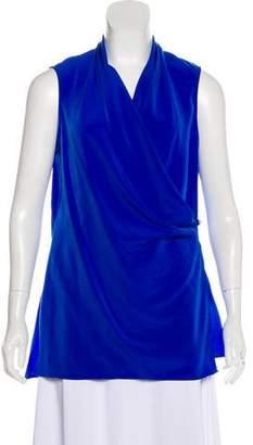 d3cb9f749e7e0 Calvin Klein Blue Sleeveless Tops For Women - ShopStyle Australia