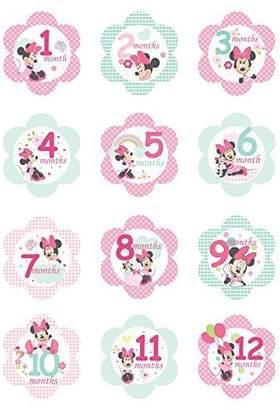 Kids Preferred Disney Milestone Flower Stickers, Minnie Mouse by