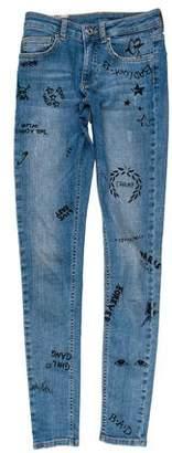 Zoe Karssen Mid-Rise Skinny Jeans