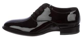 Alexander McQueen Patent Leather Tuxedo Oxfords w/ Tags