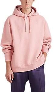 Acne Studios Men's Logo Cotton Fleece Hoodie - Pink