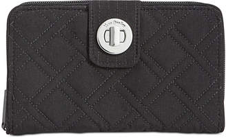 Vera Bradley Rfid Turnlock Wallet