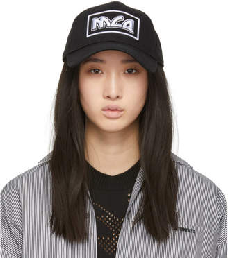 McQ Black Metal Logo Baseball Cap