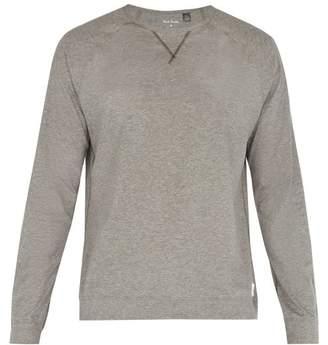 Paul Smith Crew-neck cotton-jersey pyjama top