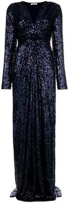 P.A.R.O.S.H. ruched sequin gown