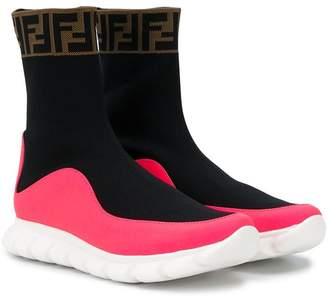 Fendi slip-on sock-style trainers