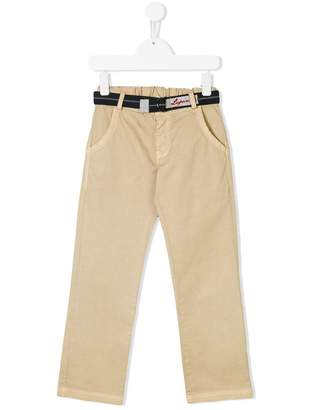 Lapin House belted chino trousers