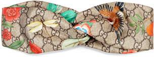 Gucci Tian silk headband $375 thestylecure.com