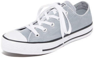 Converse Chuck Taylor All Star Velvet OX Sneakers $60 thestylecure.com