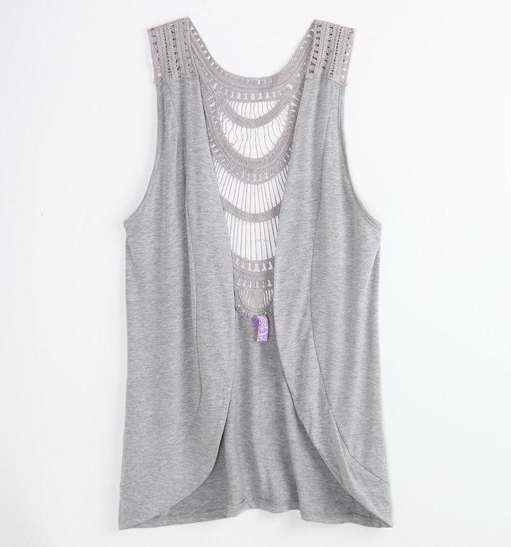 Sound & Matter Crochet Back Vest