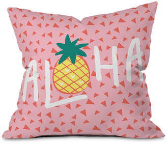 Deny Designs Aloha Darling Throw Pillow