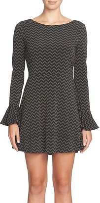 Women's Cece Jayden Print Fit & Flare Dress $118 thestylecure.com