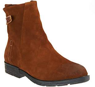 Cougar Waterproof Suede Ankle Boots -Yazoo