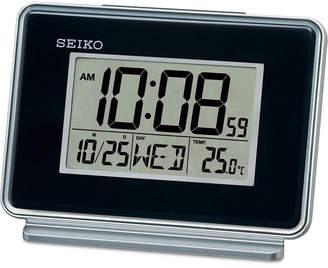 Seiko Black Digital Dual Alarm Clock