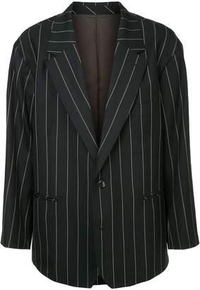 Doublet oversized pinstriped blazer