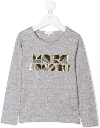 Little Marc Jacobs graphic logo print T-shirt