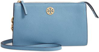 Tory Burch Mini Everly Leather Crossbody Bag