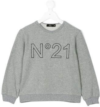 No.21 Kids logo sweatshirt