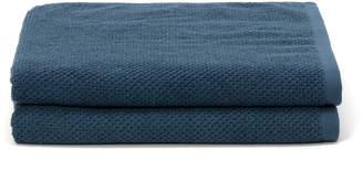 Tempo バスタオル 2枚セット ブルー