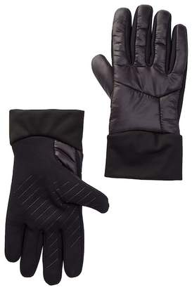 Amicale Stretch Quilted Faux Fur Gloves