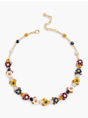 Talbots Mini Bouquet Necklace