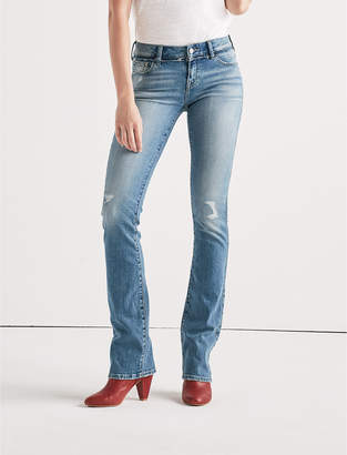 Lucky Brand Lolita Mid Rise Boot Jean