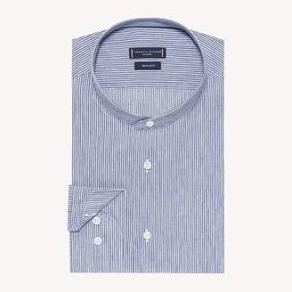 Ithaca Stripe Upright Collar Shirt