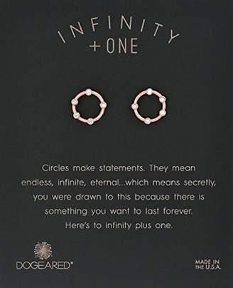 Dogeared Small Halo Stud Earrings