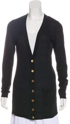 Magaschoni Silk Lightweight Knit Cardigan