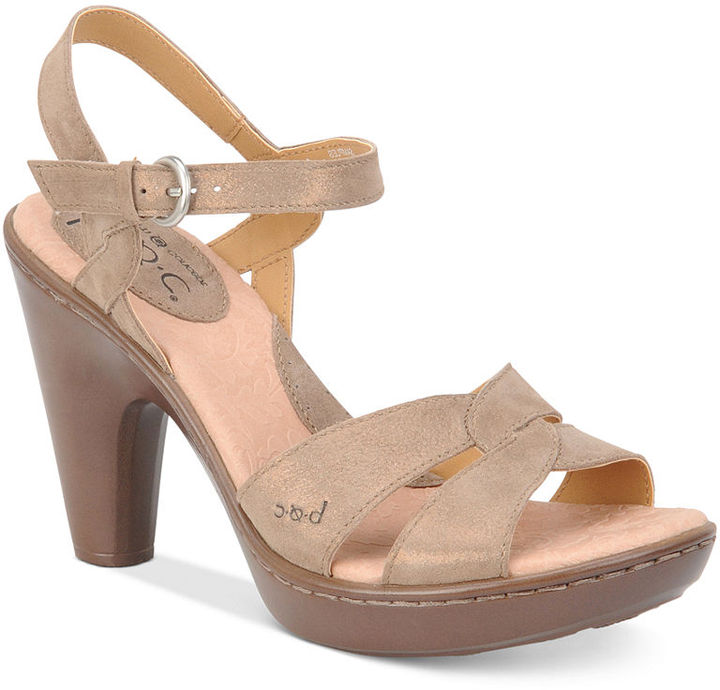 b o c by born shoes cantara platform sandals sold out