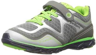 pediped Force, Boys Multisport Outdoor Shoes, Grey (Grey Lime), (24 EU)