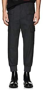Neil Barrett Men's Cargo Trousers-Dark Gray