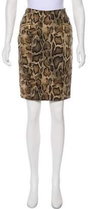 Michael Kors Printed Pencil Skirt