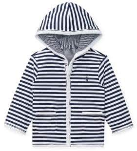 Ralph Lauren Childrenswear Baby Boy's Reversible Cotton Hoodie