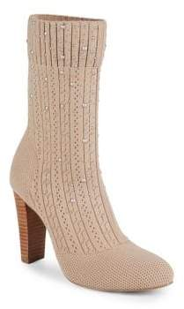Charles by Charles David Sky Beaded Knit Boots