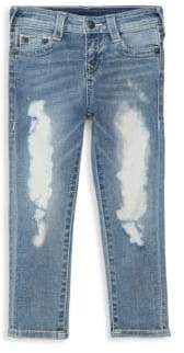 Little Boy's Rocco Distressed Jeans