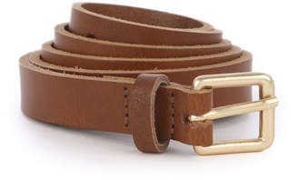 Warehouse Leather Belt