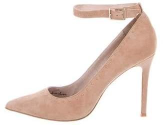 Joie Suede T-Strap Sandals