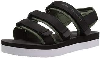 Armani Exchange A|X Men's Velcro Strap Sandal