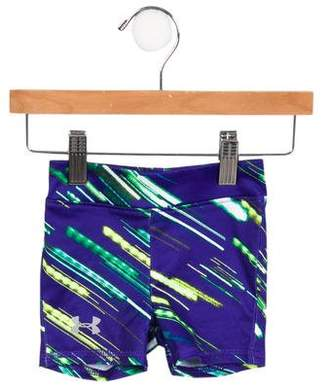 Under Armour Girls' Abstract Athletic Shorts