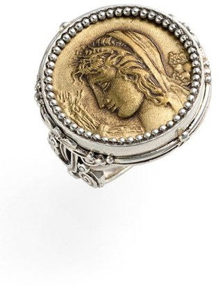 Women's Konstantino 'Demeter' Coin Ring $590 thestylecure.com