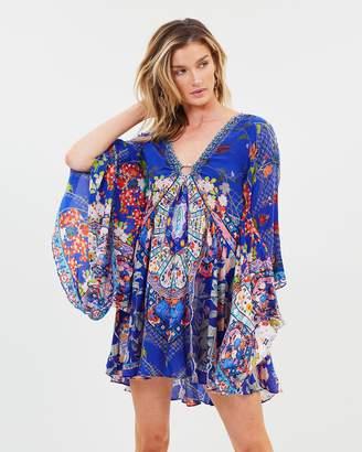 Camilla U-Ring Dress with Kimono Sleeves