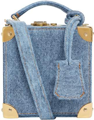Natasha Zinko Denim Box Bag
