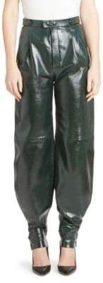 Givenchy Tapered Leather Pants