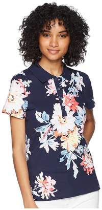 Joules Pippa Printed Polo Shirt Women's Clothing