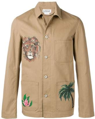 Loewe Safari shirt jacket