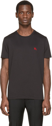Burberry Brit Black Logo T-Shirt $105 thestylecure.com