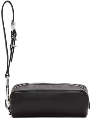 Alexander Wang Black Ace Wristlet Clutch