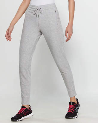 Reebok Grey Essential Cuffed Slim Jogger Sweatpants